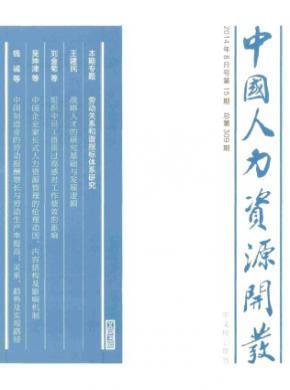 中国人力资源开发北大核心期刊审稿周期
